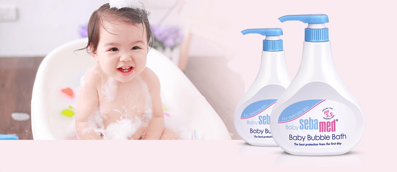 享受與寶寶歡樂泡泡浴時光