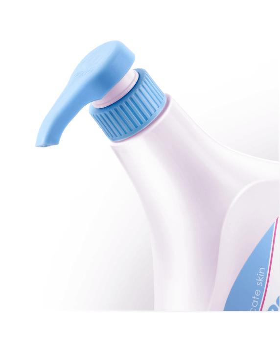 泡泡露環保材質壓頭,旋式泵嘴,幫寶寶洗澡不手忙腳亂(500ml)